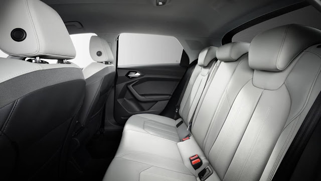 Novo Audi A1 2019 - interior