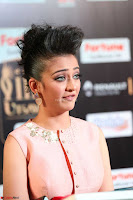 Akshara Haasan in Peachy Crop Top Choli Skirt at IIFA Utsavam Awards 46.JPG