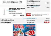Logo Realizza i tuoi Desideri: ricevuti e spesi i primi buoni spesa da 20€.