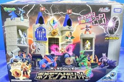 Takara Tomy Pokemon Mega Chateau play set