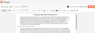 Cara membuat Disclaimer blog secara otomatis dengan easyrever.com