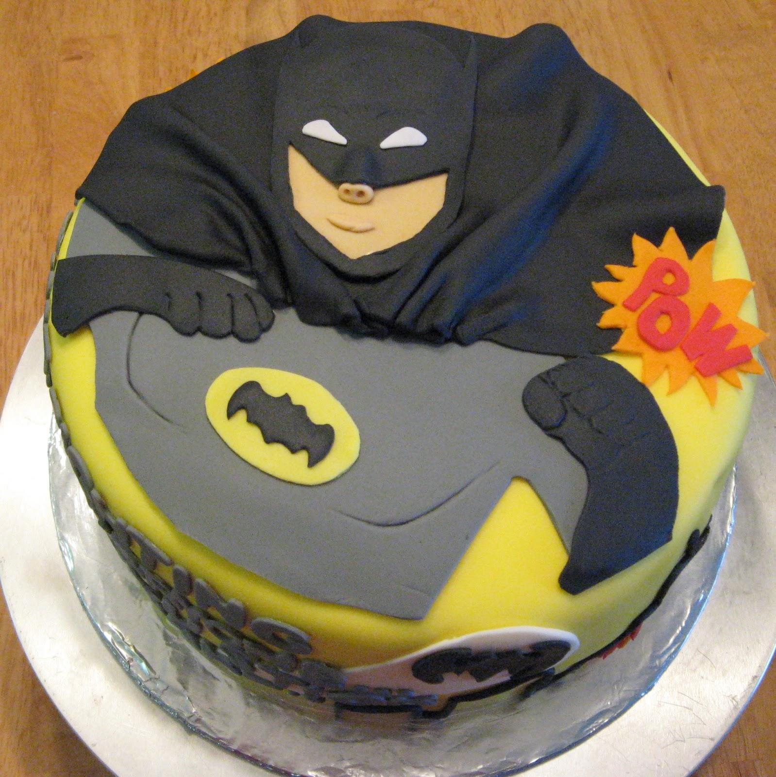 Sweet Cakes Dc Batman Birthday Cake Round 2