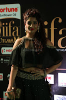 Ritika Singh in a Ethnic Deep Neck Dark Green Choli Ghagra at IIFA Utsavam Awards March 2017 ~ 026.JPG