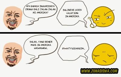 Tebak-tebakan Lucu, Tebakan Lucu, Tebak-tebakan Humor, Tebak-tebakan Gokil, Teka-Teki Lucu, Teka-teki Humor, Teka-teki Gokil. | http://www.zonasiswa.com