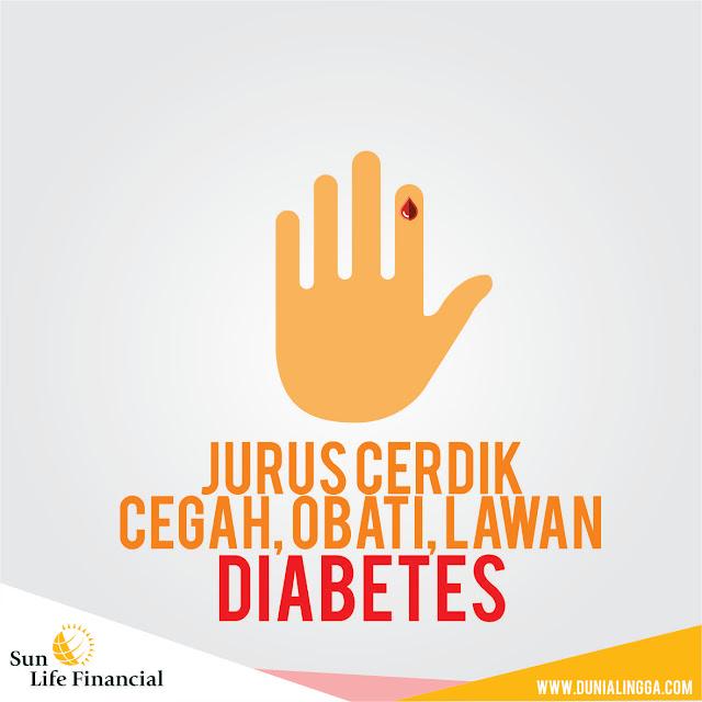 jurus cerdik cegah, obati, lawan diabetes sun life kemenkes