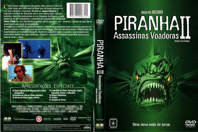 Filme Piranhas 2 - Assassinas Voadoras (Piranha 2 The Spawning) DVD Capa
