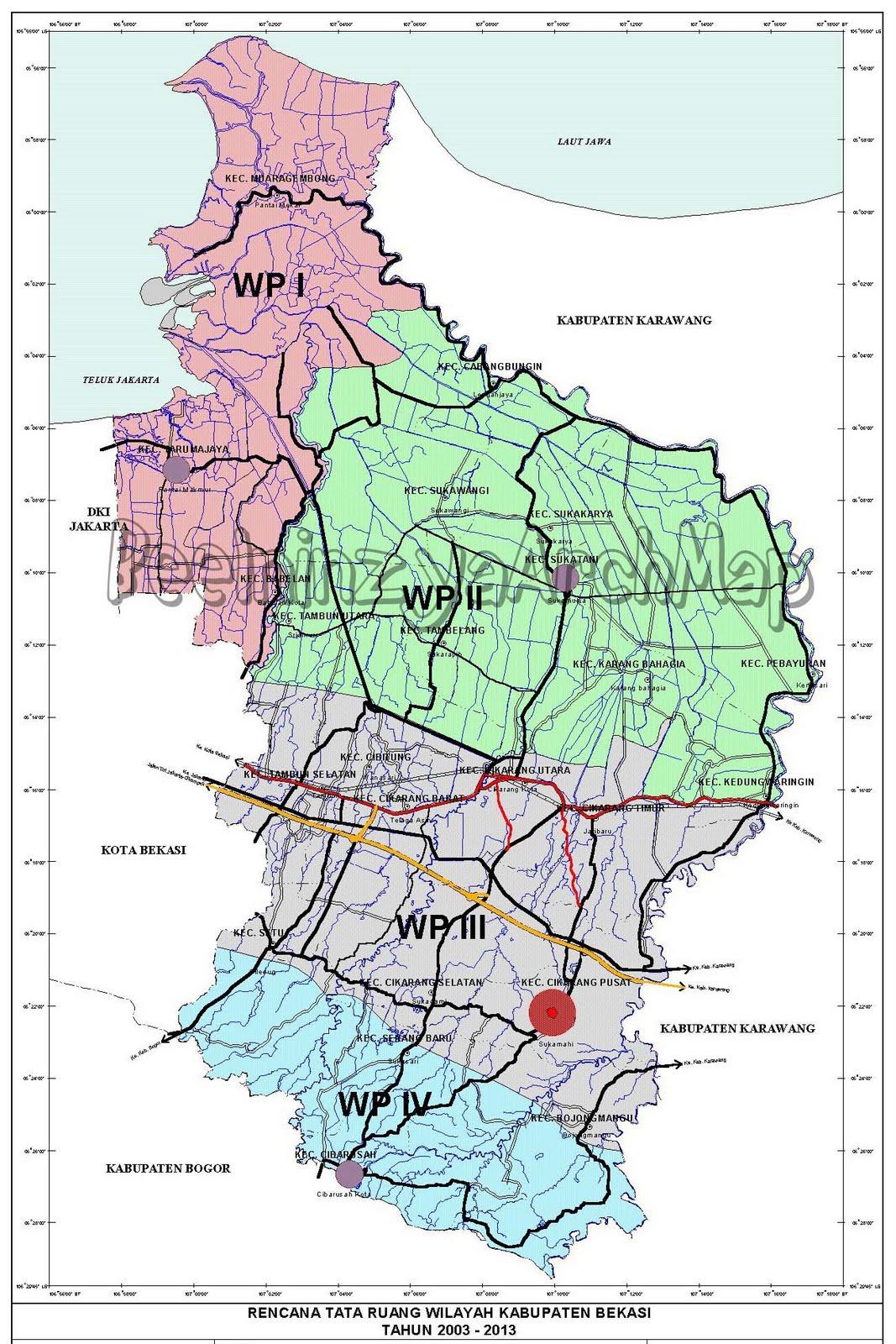 PROFIL KABUPATEN BEKASI ~ GEOGRAFI REGIONAL INDONESIA