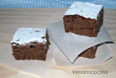 Brownie de avellanas y Chocolate intenso
