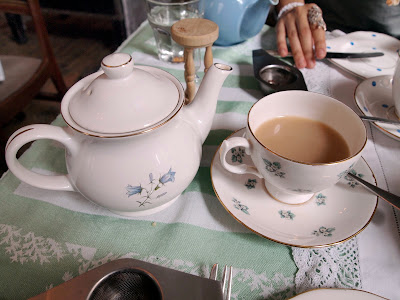 Soho's Secret Tearoom teapot tea