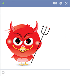 Naughty Devil Bird Icon