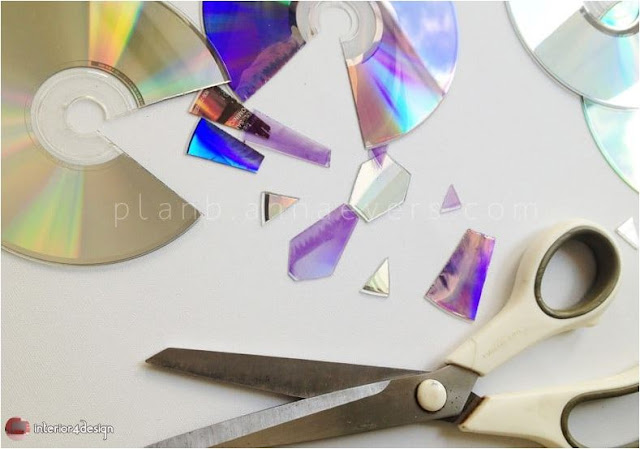 Computer CDs handicraft 14