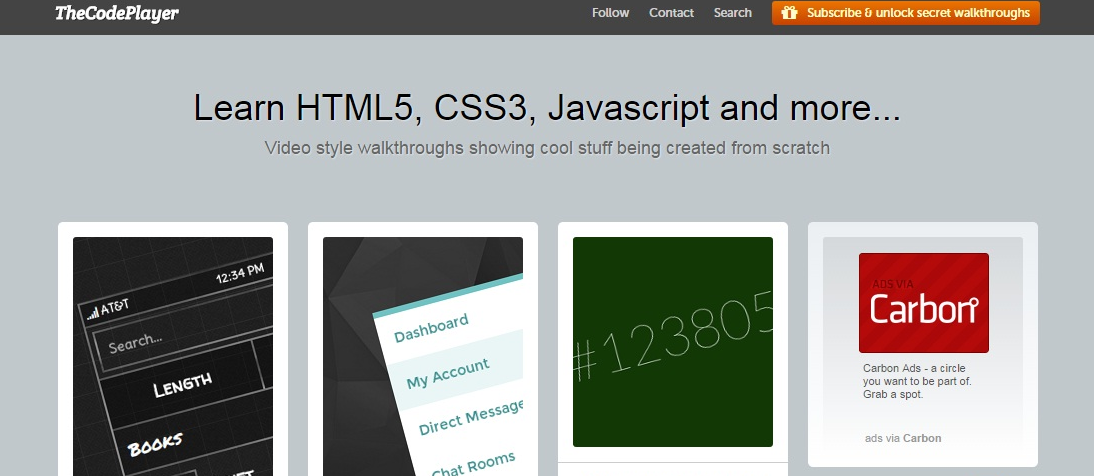 Learn for free programming and development of sites with ease