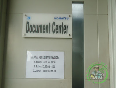 Document Center PT. Komatsu Indonesia