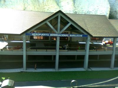 Maquete aeroporto Bariloche