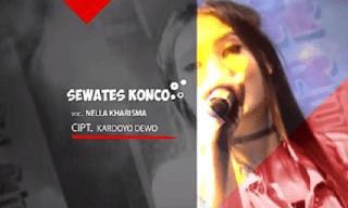 Lirik Lagu Mung Sewates Konco - Nella Kharisma