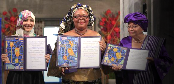 Tawakkul Karman wanita Arab pertama yang memperoleh Nobel