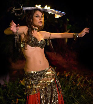 Belly dance naked egyption style - 2 5