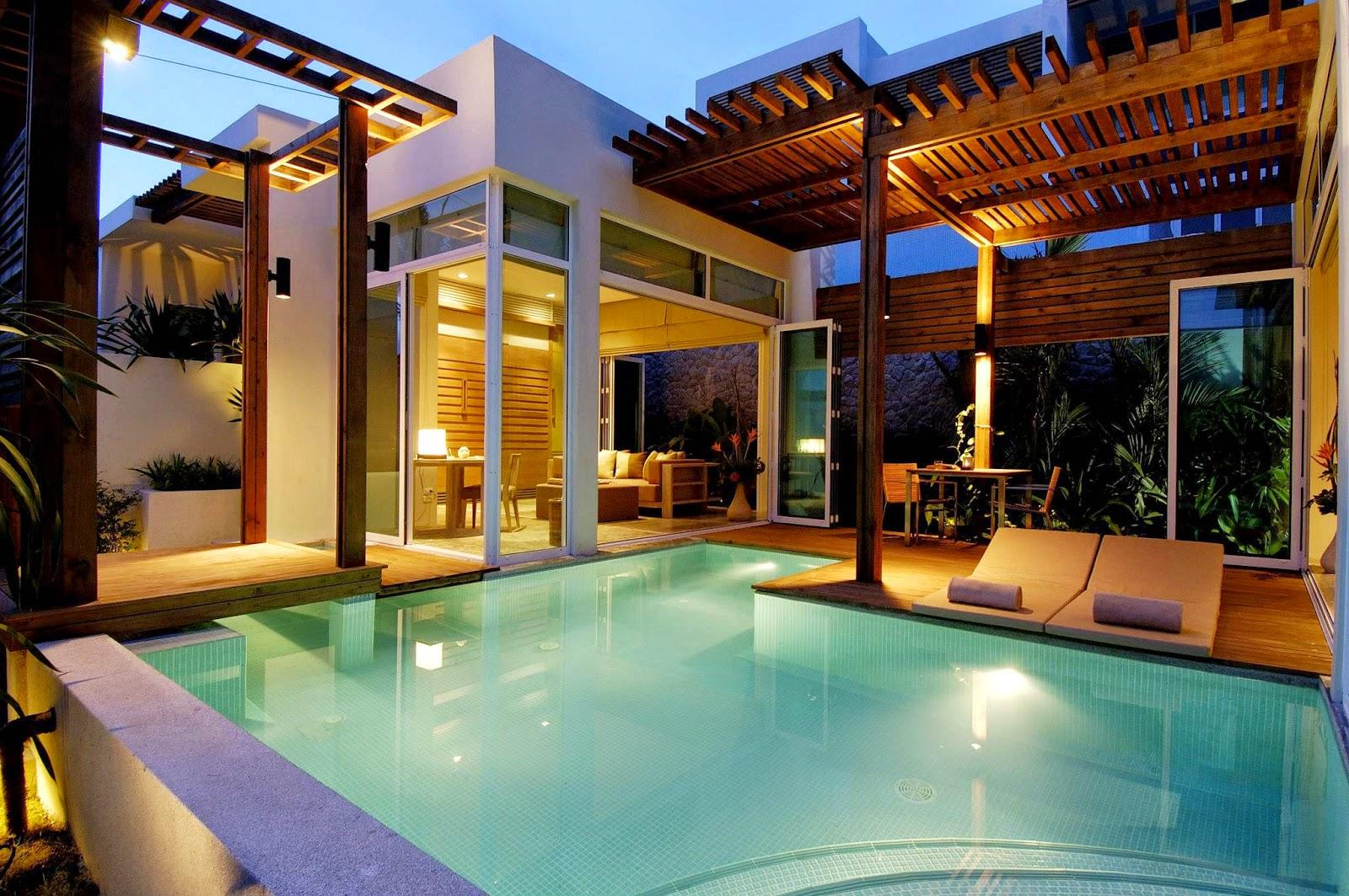 Desain Rumah Minimalis 2 Lantai Dan Kolam Renang Desain Rumah