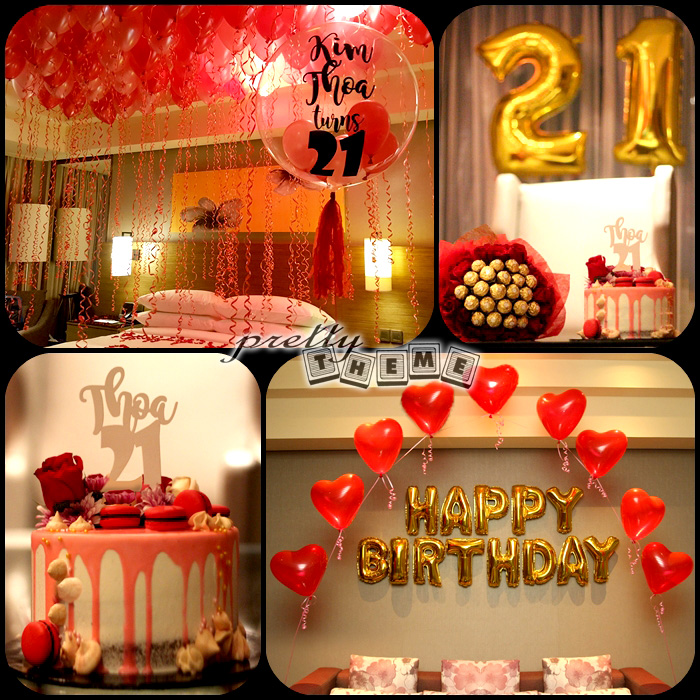 97 18th birthday hotel room party ideas decorate a for Home decor johor bahru