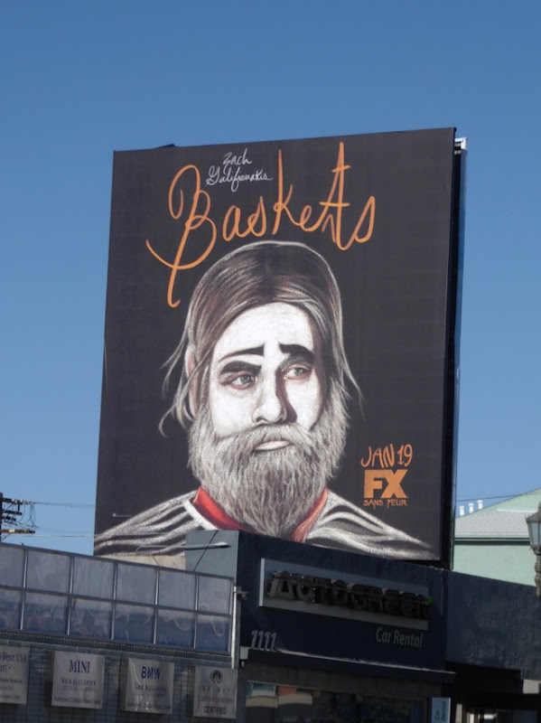 Baskets season 2 FX billboard