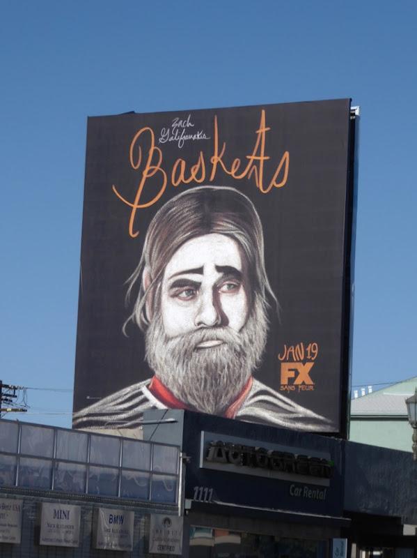 Baskets season 2 FX billboard