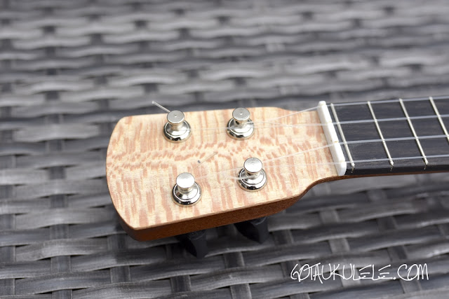 Andy's Ukuleles Piccolo headstock