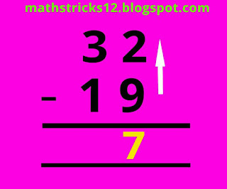 Subtraction fast trick