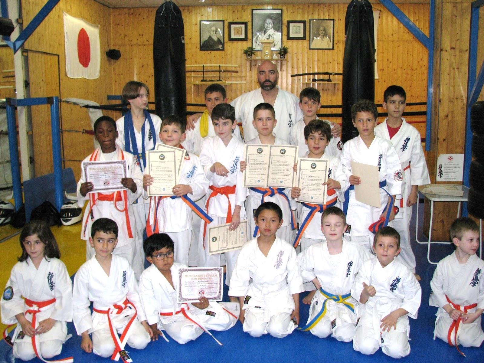 Budokan blog de artes marciales foto entrega de grados - Artes marciales sevilla ...