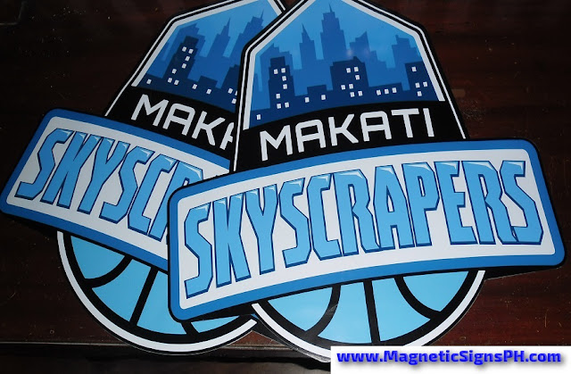 Die Cut Magnetic Stickers - Makati Skyscrapers