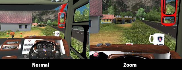 Zoom Kamera ETS2