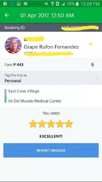Mother With Dying Son Expresses Gratitude to This Heroic Grab Driver