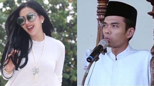Ustaz Abdul Somad Datang, Syahrini : Masya Allah, My Dream Come True