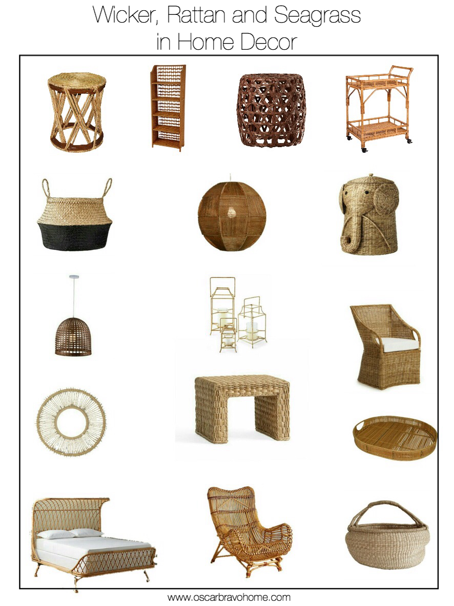 Wicker Home Decor Decorating Home With Ethnic Wicket Dishes And