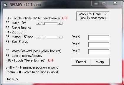 Nfsu2 unlock all cars trainer download.