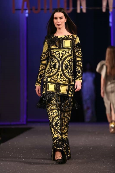 Pakistani Designer Sana Safinaz Chateau Marmont for PSFW 2017