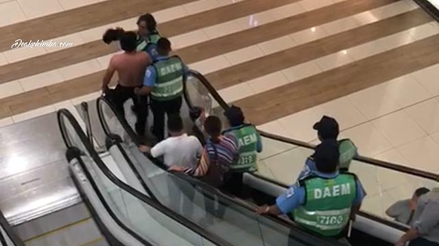 Policía Orteguista secuestra a ciudadano en Centro Comercial Galerías Santo Domingo