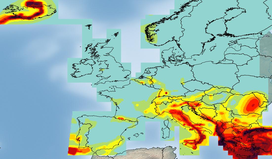 Goofynomics amatrice dormitio virginis for Mappa sismica italia