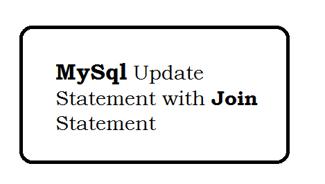 Mysql Update Statement with Join