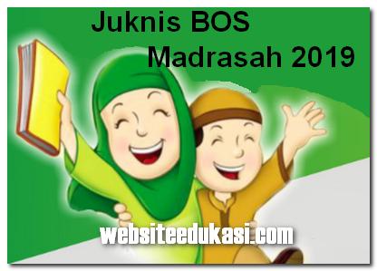 Juknis BOS Madrasah Tahun 2019
