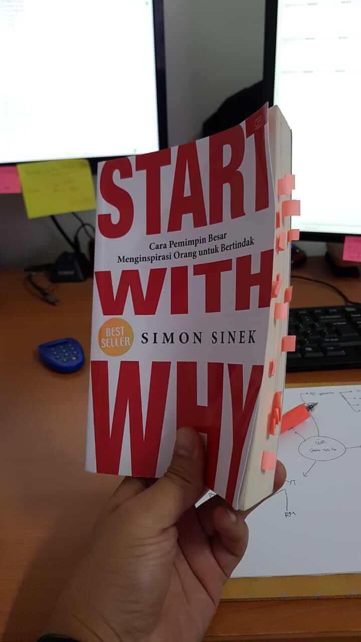 buku Start With Why - Simon Sinek