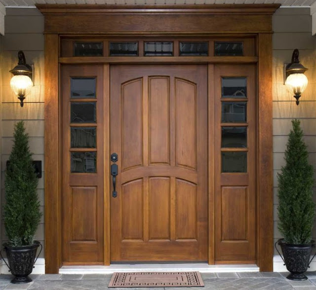ukuran pintu rumah minimalis 2 pintu besar kecil