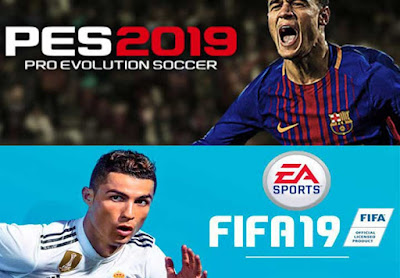 PES 2019 VS FIFA 19