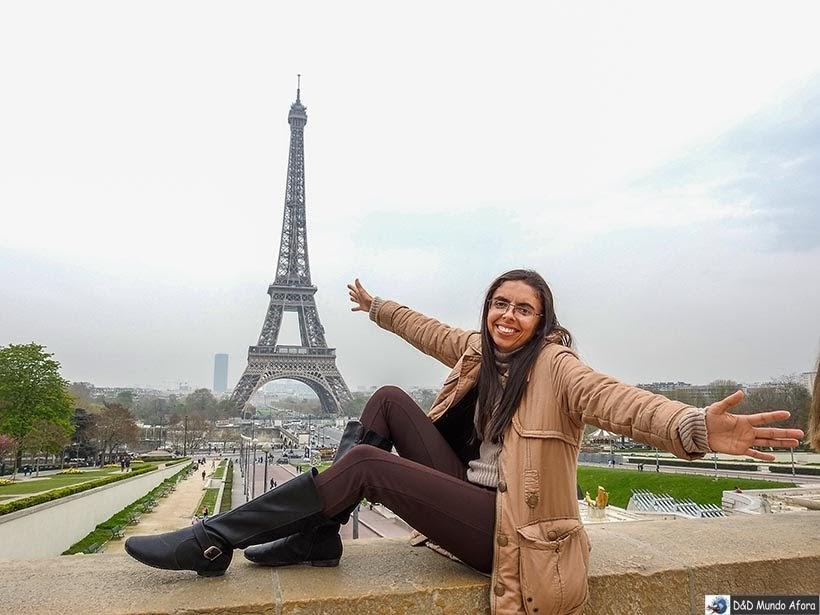 Praça e Jardim do Trocadéro - O que fazer em Paris: principais pontos turísticos