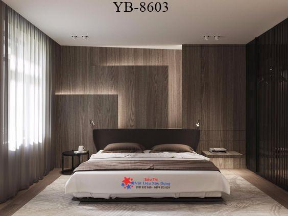 Tấm Ốp Tường PVC Vân Gỗ TGW-8603