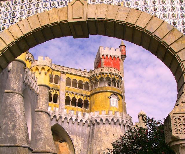 Sintra - palatset Pena