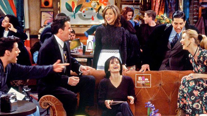 25 anni di Friends, sei amici al Central Perk