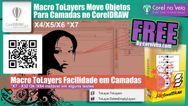 ToLayer Objetos para Camadas em um Clique no CorelDraw