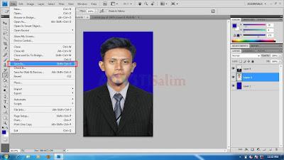 Menyimpan hasil editing dari Aplikasi Photoshop, Termudah untuk Pemula