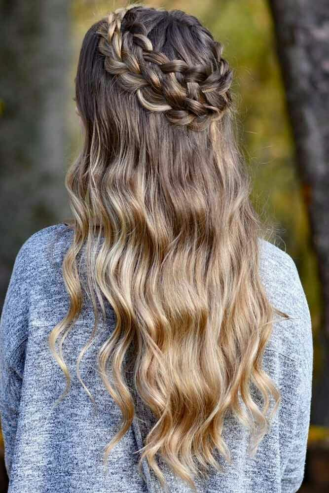 hair style water fall fαshiση gαlαxy 98 water fall crown briade hairstyle 3839