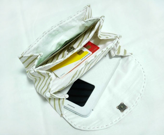 Accordion Fabric Wallet / Clutch / Purse. DIY Step by Step Tutorial